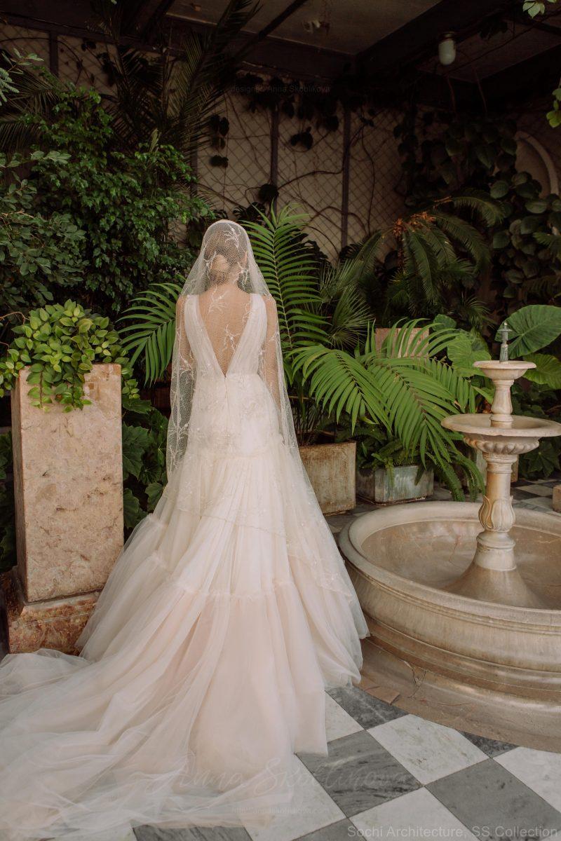 WRAP PETITE WEDDING DRESS – NINELLE \ Anna Skoblikova