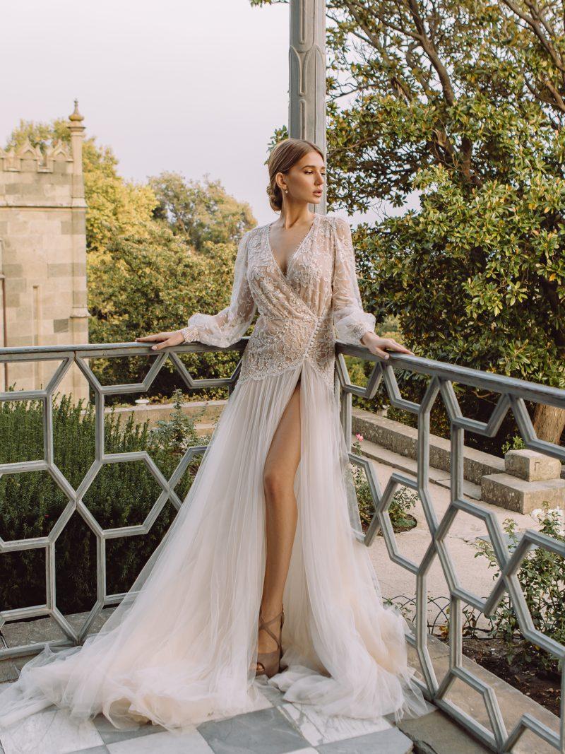 Королевское свадебное платье - Rosa Landora \ 0165 \ Anna Skoblikova : Фото 1