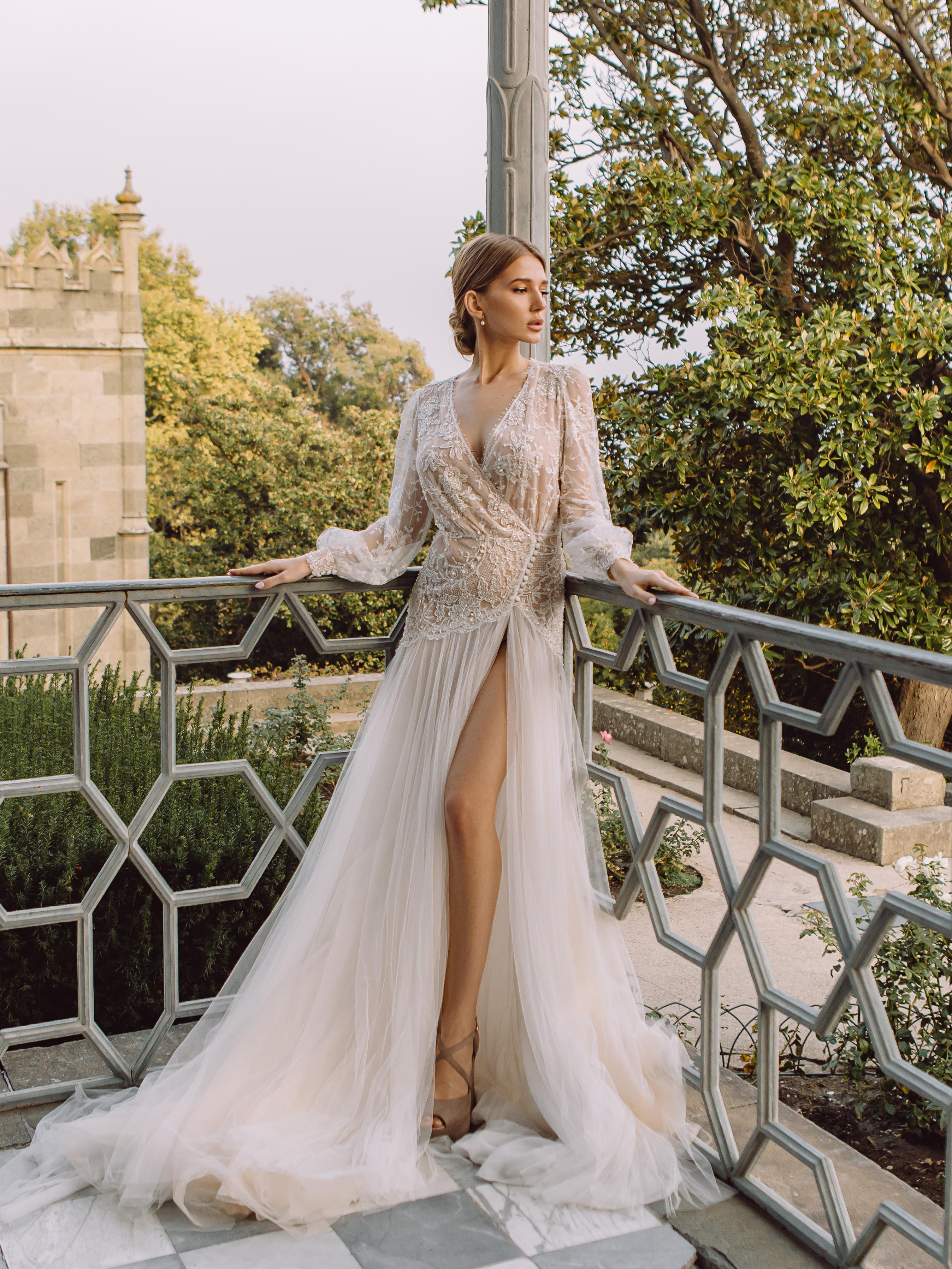 Garden wedding dress - 0165 - Rosa Landora : Photo 3