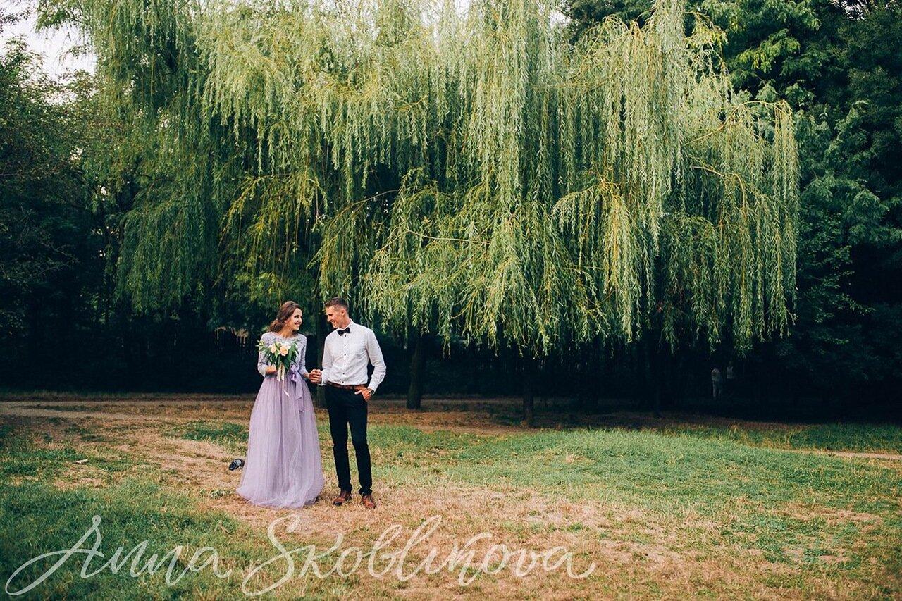 Flowing wedding dress - 0042 / Anna Skoblikova / Julia | Photo 1