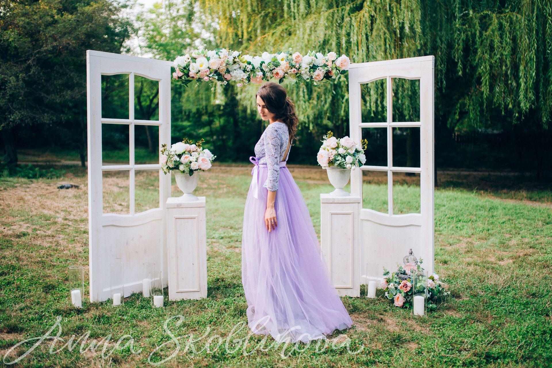 Flowing wedding dress - 0042 / Anna Skoblikova / Julia | Photo 3