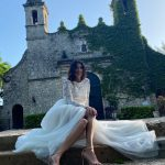 Свадебное платье из двух частей с юбкой из фатина Anna Skoblikova 0185