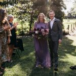 Violet wedding dress in vintage style  0127 | Photo 2