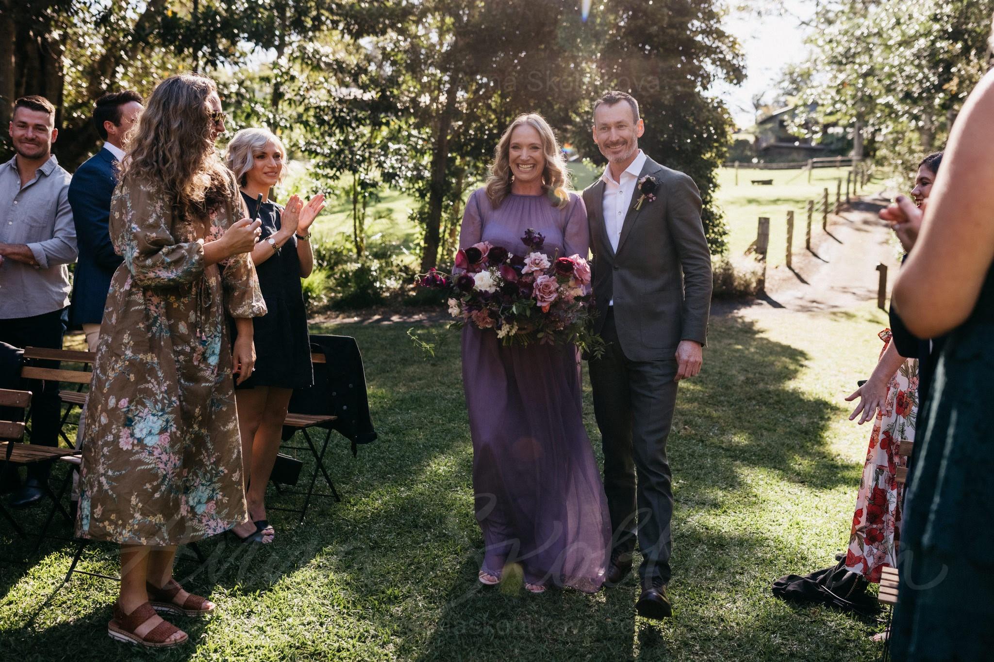 Violet wedding dress in vintage style  0127   Photo 2