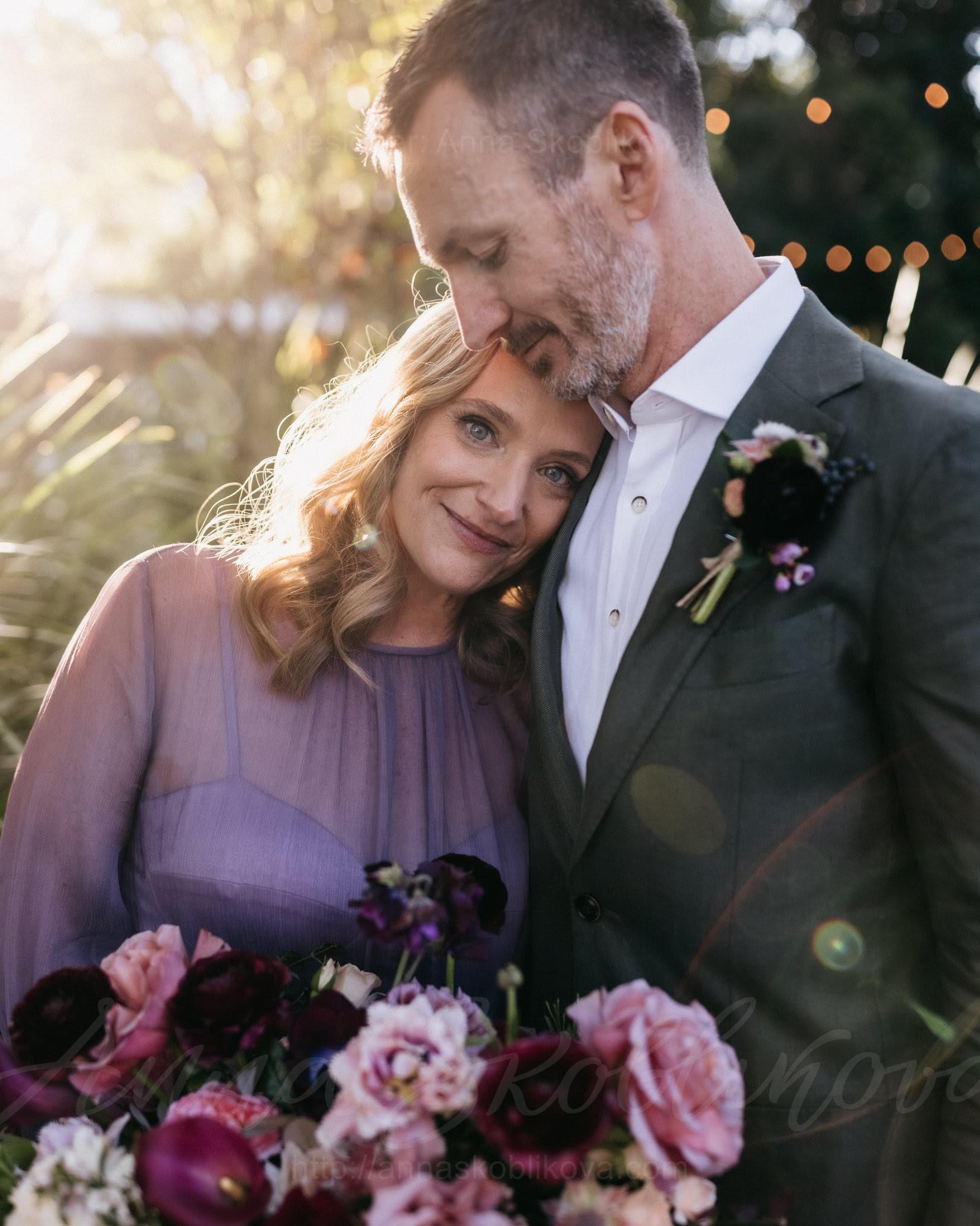 Violet wedding dress in vintage style \ 0127   Photo 1